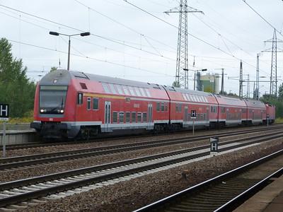 DB Regio train at Berlin Schonefeld, Saturday 15/09/12
