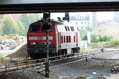 218 839 at Berlin Ostkreutz, Sunday 16/09/12