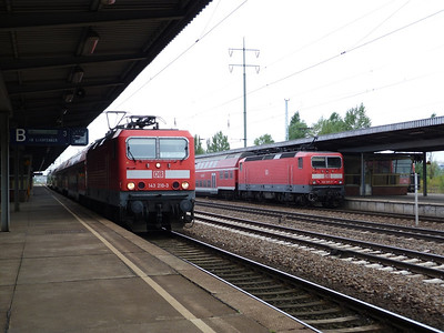 143 210 and 143 303, Berlin Schonefeld, Saturday 15/09/12