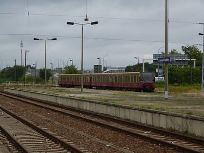 S-Bahn arriving into Berlin Schonefeld, Saturday 15/09/12