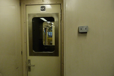 The inner end door on 2722, with the mystery metal box on the wall. Wednesday, 22/02/12