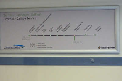 Interior map showing the Western Rail Corridor. Wednesday, 22/02/12