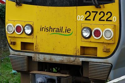 Cab end detail on 2722, Limerick,Thursday, 23/02/12