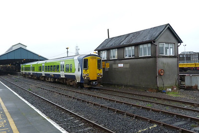 2714 departs on the 11:55 Limerick to Galway service. Wednesday, 22/02/12