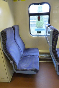 The inner end seats of 2722. Wednesday, 22/02/12