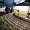 A multi-layered set up inside the Nashua Valley Railroad Association's Pheonix Park open house in Shirley depicts the New England Rail system during Railfair '17 on Sunday April 2, 2017.  (Sentinel & Enterprise photo/Jeff Porter)