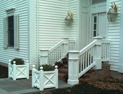 873 - NJ - Jamestown Railing with Pillar Posts