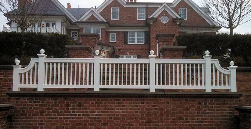 873 - NJ - Jamestown Railing with Curves