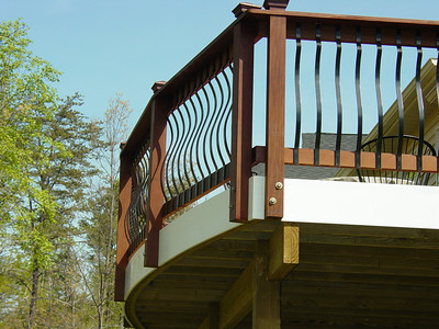 Radius with Deckorator railing