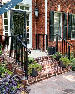 Black Aluminum Handrail