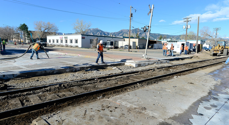 Railroad Crossing Repair