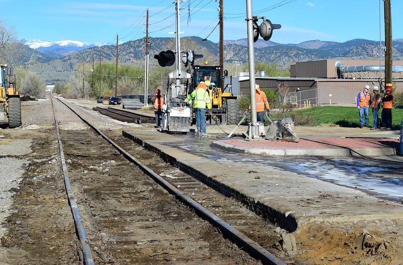 Railroad Crossing Repair