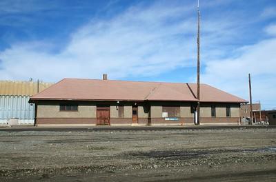 CB&Q depot in Fort Morgan, CO