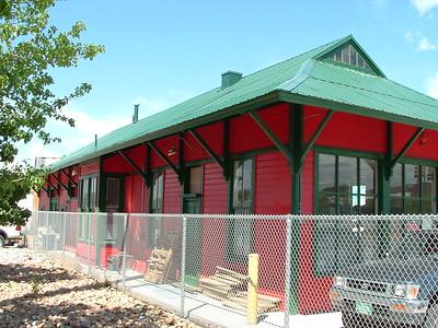 Longmont, CO CB&Q depot.