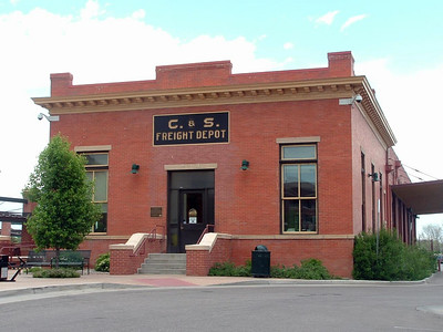 Colorado & Southern freight depot in Fort Collins, CO.