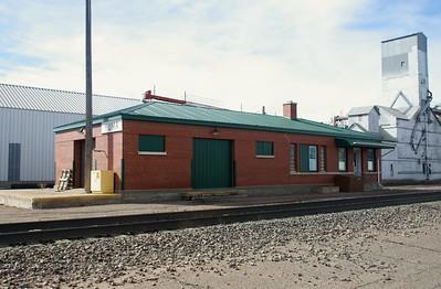 Yuma, CO CB&Q depot