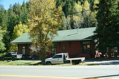 Idaho Springs, CO Colorado Central railroad depot