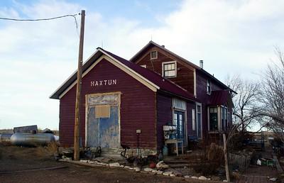 Haxtun, CO CB&Q depot