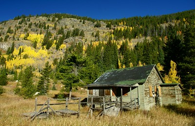 Maintenance worker house next to Moffat Tunnel.