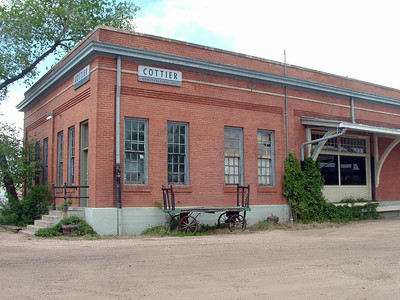 CB&Q freight depot in Fort Collins, CO.