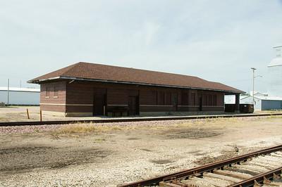 Milwaukee depot in Charles City, IA.