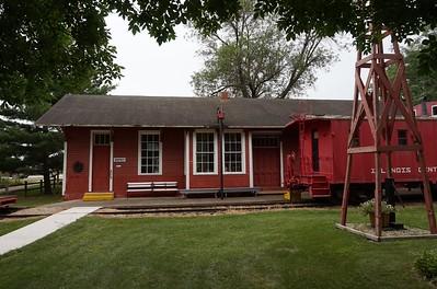 Fredericksburg, IA C&GW depot