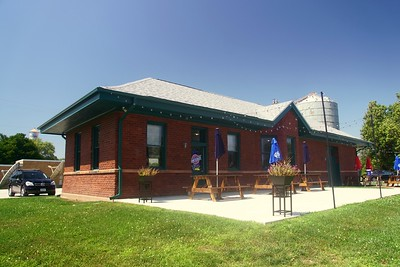 Minneapolis & St Louis depot in Minburn, IA.