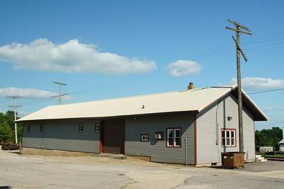 Rock Island freight depot in Iowa Falls, IA