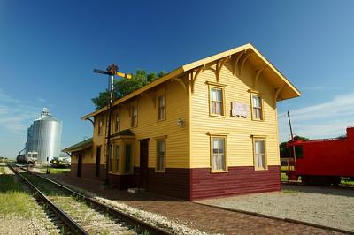 Rockford, IA Rock Island depot