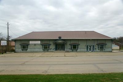 CRI&P depot in Audubon, IA.