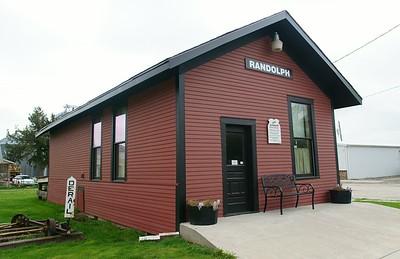 Randolph, IA CB&Q depot