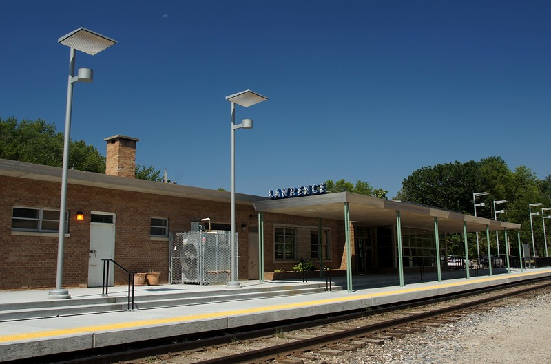 Lawrence, KS ATSF depot