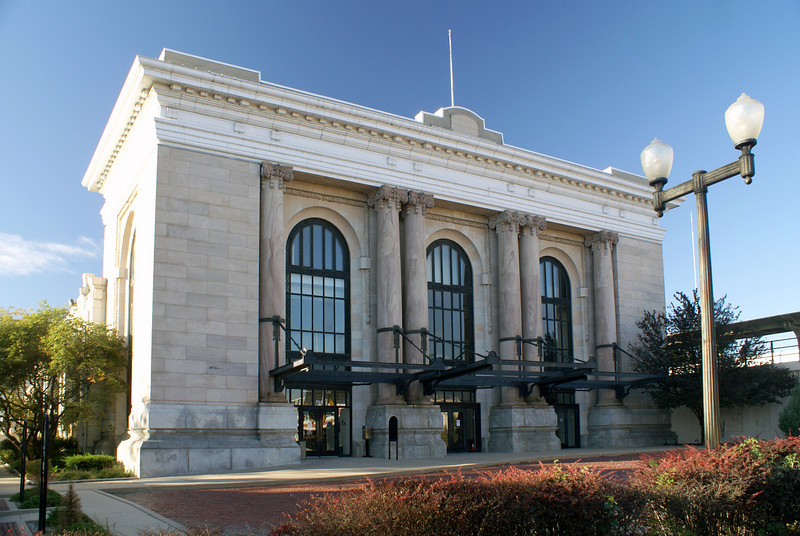 Union Station in Wichita, KS.  The building is now vacant.