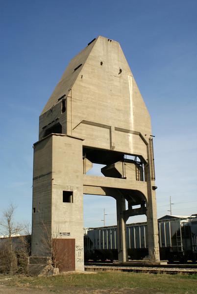 Coaling tower in Great Bend, KS