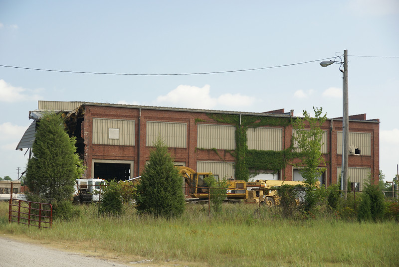 KCS shops being demolished in Pittsburg, KS