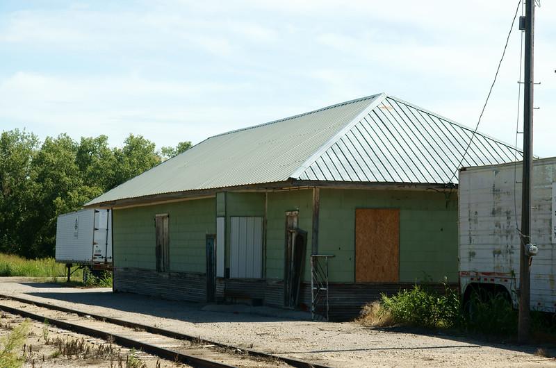 Cawker City, KS Missouri Pacific depot