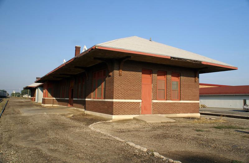 Missouri Pacific depot in Concordia, KS.