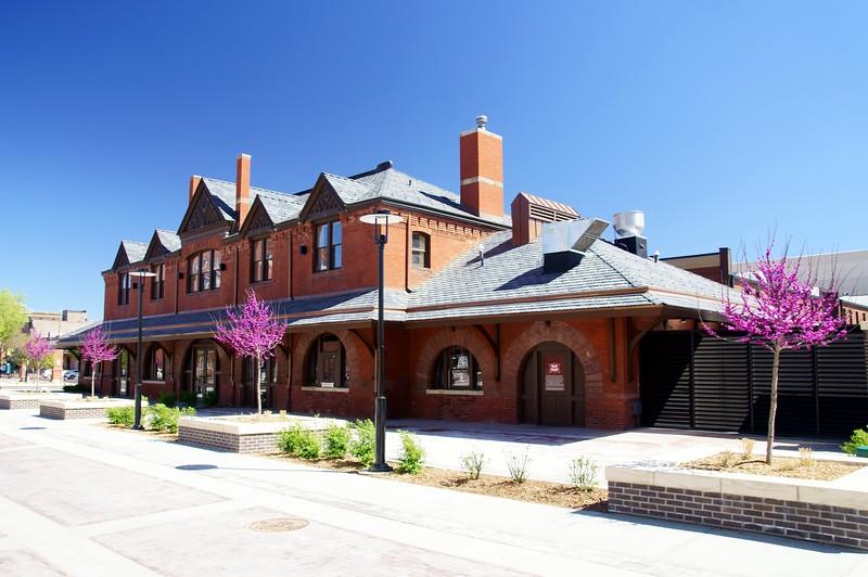 Chicago, Rock Island & Pacific depot in Wichita, KS.