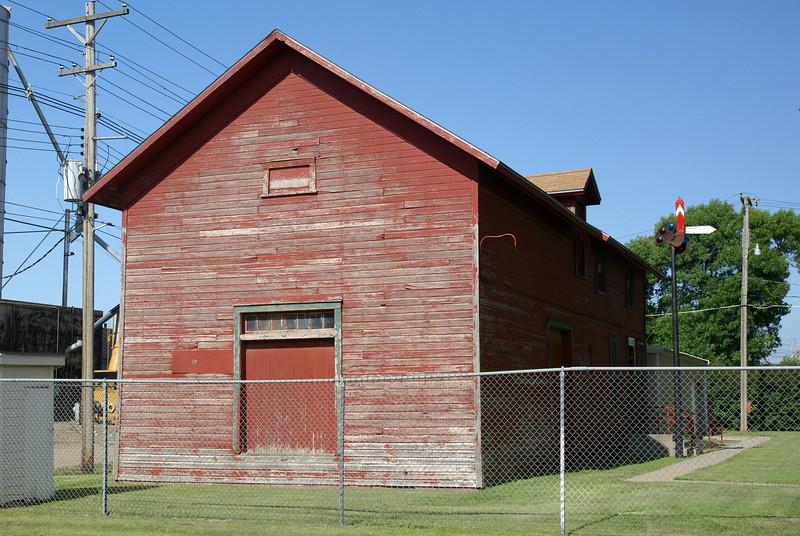 Oberlin, KS CB&Q Depot