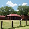 Elmont, KS CRI&P depot now located outside of Topeka, KS