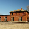 Former Missouri Pacific freight depot in Independence, KS.
