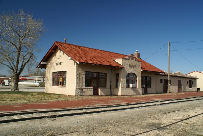 Pratt, KS ATSF depot.