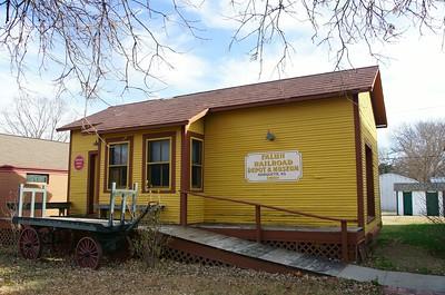 Falun, KS Missouri Pacific has been relocated to Marquette, KS.