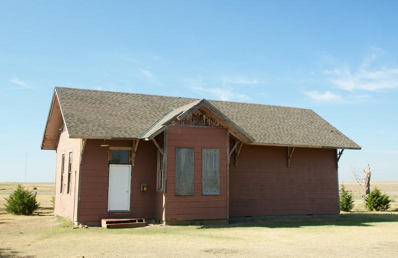 Quniter, KS Union Pacific depot