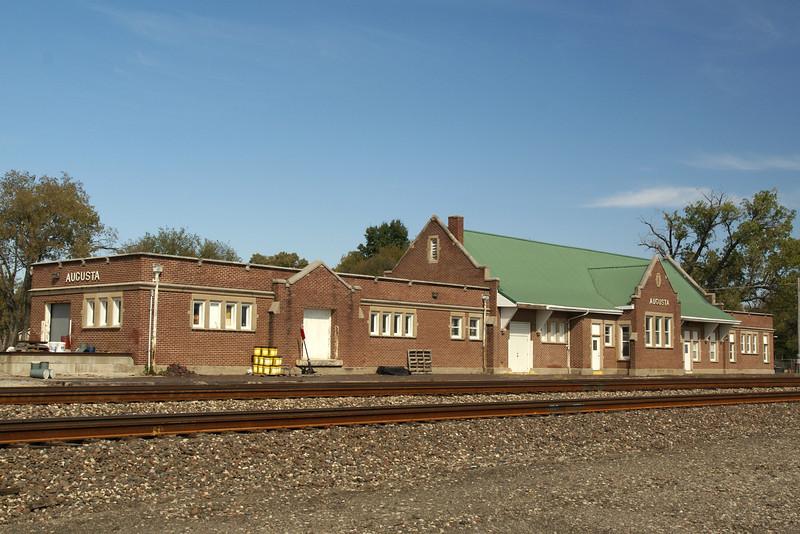 Augusta, KS AT&SF Depot