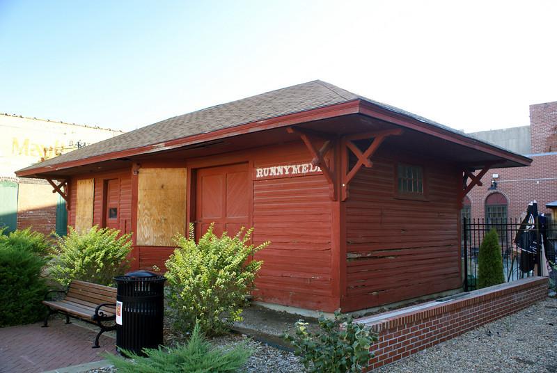 Runnymede, KS KCM&O depot now located in Wichita, KS.