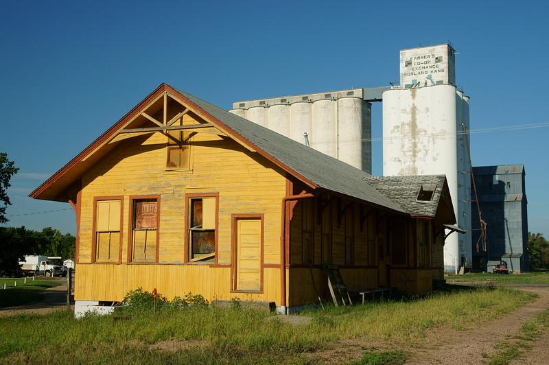 Morland, KS Union Pacific depot