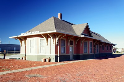 Concordia, KS Union Pacific depot.  Now the The Orphan Train Museum.