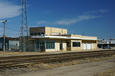 Former Rock Island depot in Hutchison, KS.  Now used by Union Pacific.