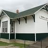 Union Pacific depot from Terra Cotta, KS.  Relocated to Ellsworth, KS.